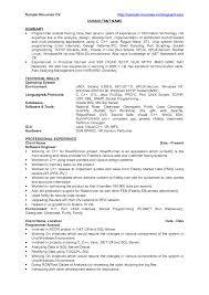 java programmer resume sample resume for study