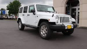 white jeep wrangler unlimited 2016 jeep wrangler unlimited sahara bright white clearcoat