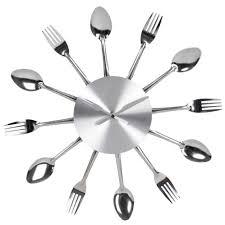 couverts cuisine horloge cuisine originale galerie et horloge digital pour cuisine