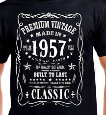 gift for turning 60 60th birthday gift t shirt 60th vintage age