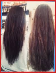 back of the hair long layers long hair with a v shape cut at the back women hairstyles for long