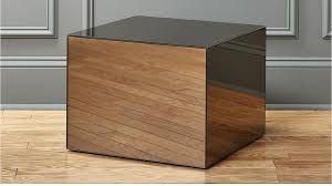 Mirrored Side Table Modern Mirrored Bedside Table For Nice Decoration U2014 New Interior Ideas