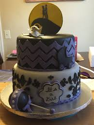 nightmare before christmas themed baby shower cake gloria u0027s