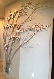 home interior tree shaped wall art ideas living room wall art