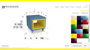 Online Furniture Myd3sign Online Furniture Configurator Youtube