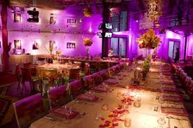 tbdress blog hollywood influenced wedding reception theme
