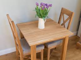 Dining Set 2 Chairs Furnituresome Ikea Two Seater Square Oak Dining Table With