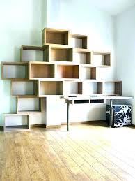 bibliothèque avec bureau intégré bureau bibliothaque design bibliotheque bureau integre design