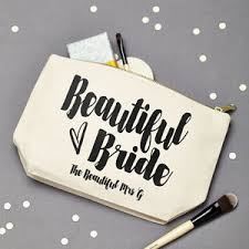 bridal makeup bag bridal beauty notonthehighstreet