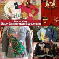 diy christmas clothes 16 homemade ugly christmas sweaters and