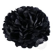 where to buy black tissue paper aliexpress buy 21pcs lot gold black tissue paper pom