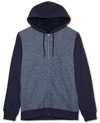 jem men u0027s marled zip up sherpa lined fleece hoodie various colors