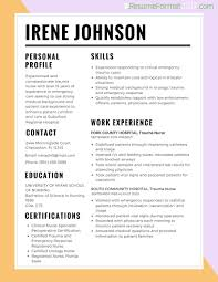 Choose The Best Latest Resume by Best Resumes Format Professional Resumes Sample Online