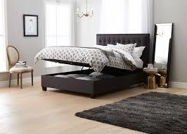 Dark Grey Bedroom Basque Upholstered Bedhead Dark Grey Bedroom Furniture Forty Winks