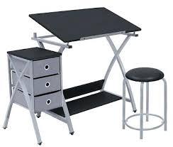 Art Drafting Table Desk Adjustable Drafting Table Drawing Board Art Station Craft