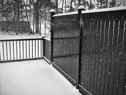 halloween fences black vinyl privacy fence
