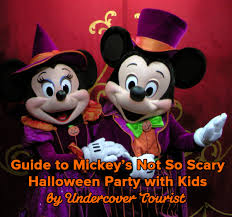 where is halloween spirit guide to mickey u0027s not so scary halloween party 2017
