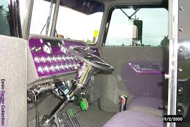 Custom Peterbilt Interior Dean Docter U0027s Pickett Truck Pictures