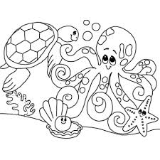 sea life animals coloring pages lost ocean marine sheets