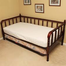 jenny lind style cherry trundle bed ebth