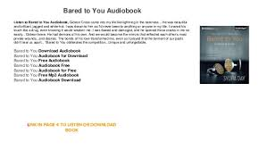 bared to you audiobook free