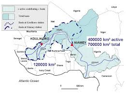 Niger River Map Water Free Full Text Increasing River Flows In The Sahel