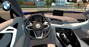 I8 Bmw Interior Bmw I8 Interior V3 0 1 28 X Car Mod Ets2 Mod