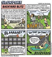 Backyard Cartoon This Week U0027s Cartoon U201cbackyard Blitz U201d Jen Sorensen