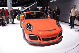 orange porsche 911 gt3 rs 2016 porsche 911 gt3 rs arrives in u s this july with 500 hp