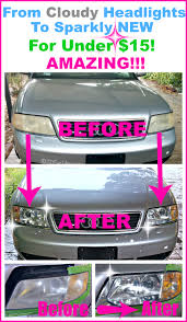 restore cloudy headlights to new for under 15 cleaning cars