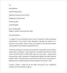 airline customer representative cover letter english literature