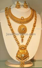 gold haram sets khazana gold haram necklace designs jewellery designs
