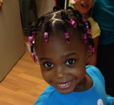 Little Girls Ponytail Hairstyles by Rubber Bands And Twists Brat Box 2 Hairstyles For Little Girls