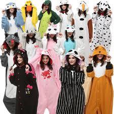 Jack Skellington Halloween Costume Aliexpress Buy Adults Halloween Costumes Onesie Pajamas Wolf