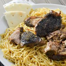 greek dinner with slow cooker pork ribs and tzatziki sauce momma z u0027s