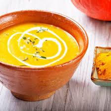 cuisiner potiron recette soupe de potiron au lait de coco