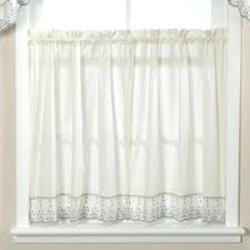Curtains For Kitchen Window by Buy 24 Inch Curtain Tiers From Bed Bath U0026 Beyond