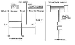turbo timer wiring diagram turbo wiring diagrams instruction
