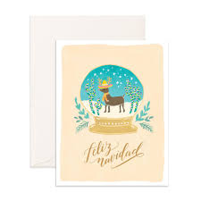 feliz navidad christmas card feliz navidad christmas card palm pine party co
