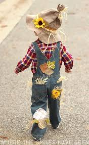 scarecrow costume easy adorable diy scarecrow costume