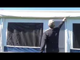 Bag Awning For Pop Up Camper Jayco 1207 Awning Setup Youtube