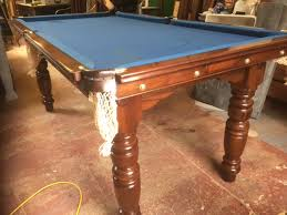 6ft pool tables for sale riley 6ft antique snooker table with slate blue cloth blue snooker