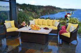 Propane Fire Pit Patio Sets Patio Furniture Awesome Interesting Fire Pit Sets Propane Table In