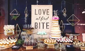 wedding dessert table displays the wedding guru how to add pizzazz to your wedding sweet table