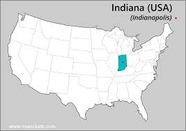Indiana Usa Map by Where Is Indiana Location Of Indiana Indiana Map Usa