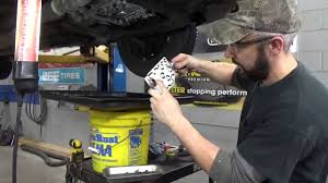 transmission fluid and filter change toyota camry youtube