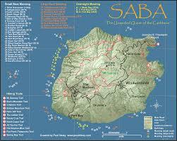 Caribbean Maps by Saba Dutch Caribbean Www Sabatourism Com Saba Maps