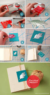crafts using christmas cards christmas lights decoration