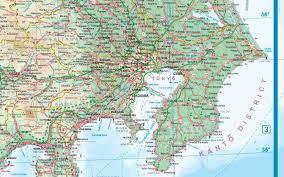 atlas road map japan road maps detailed travel tourist driving