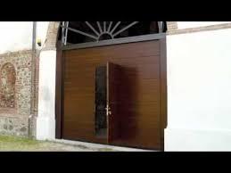 portoni sezionali breda porta pedonale inserita per portoni sezionali breda